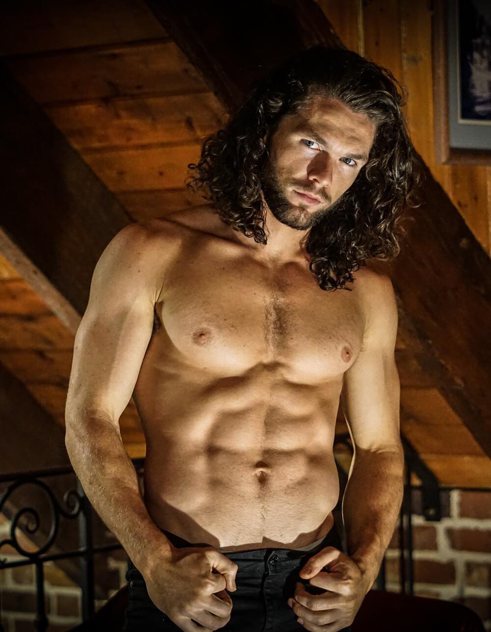 Male Stripper Dom M
