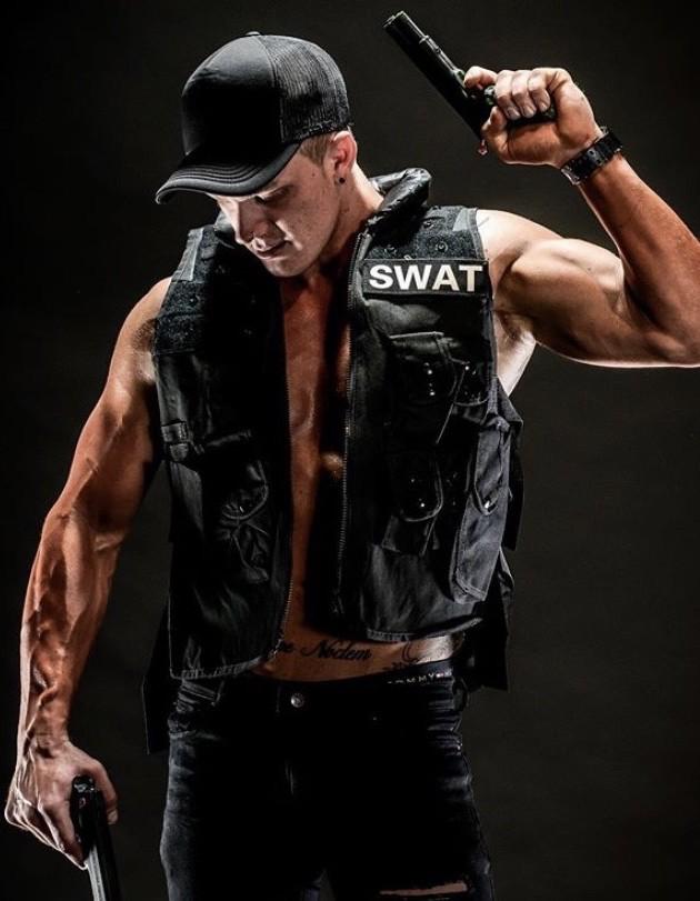 Police Stripper in Sydney