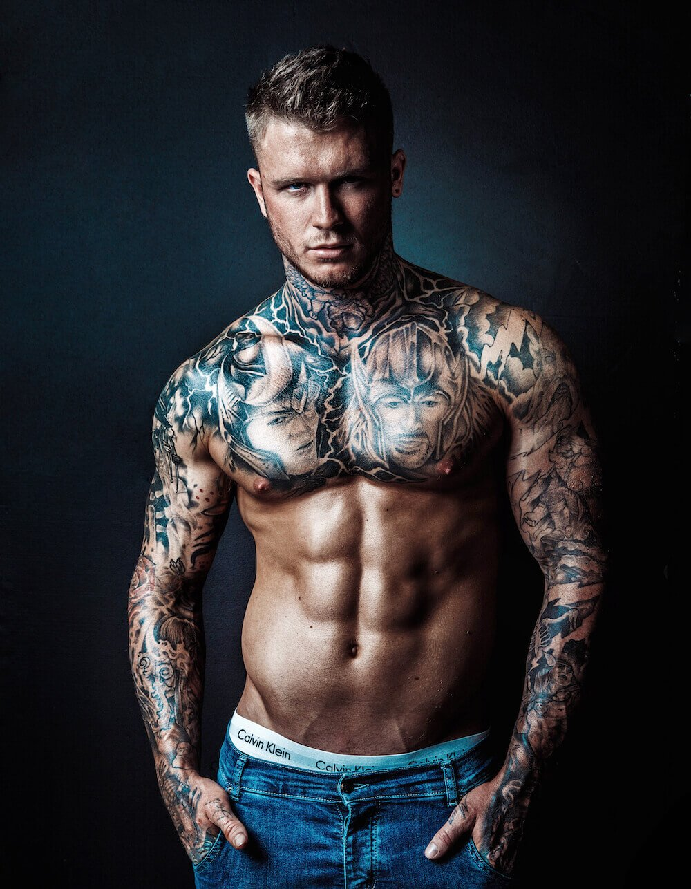 Kallym Male Stripper Melbourne