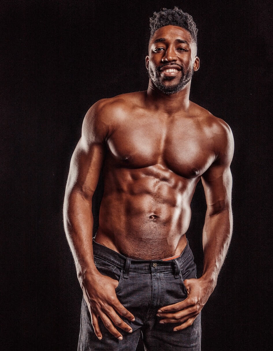 Demetrius Topless Waiter