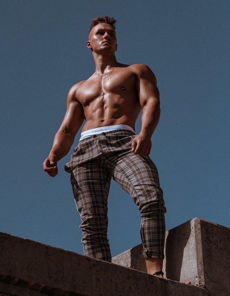 Male Stripper Alex