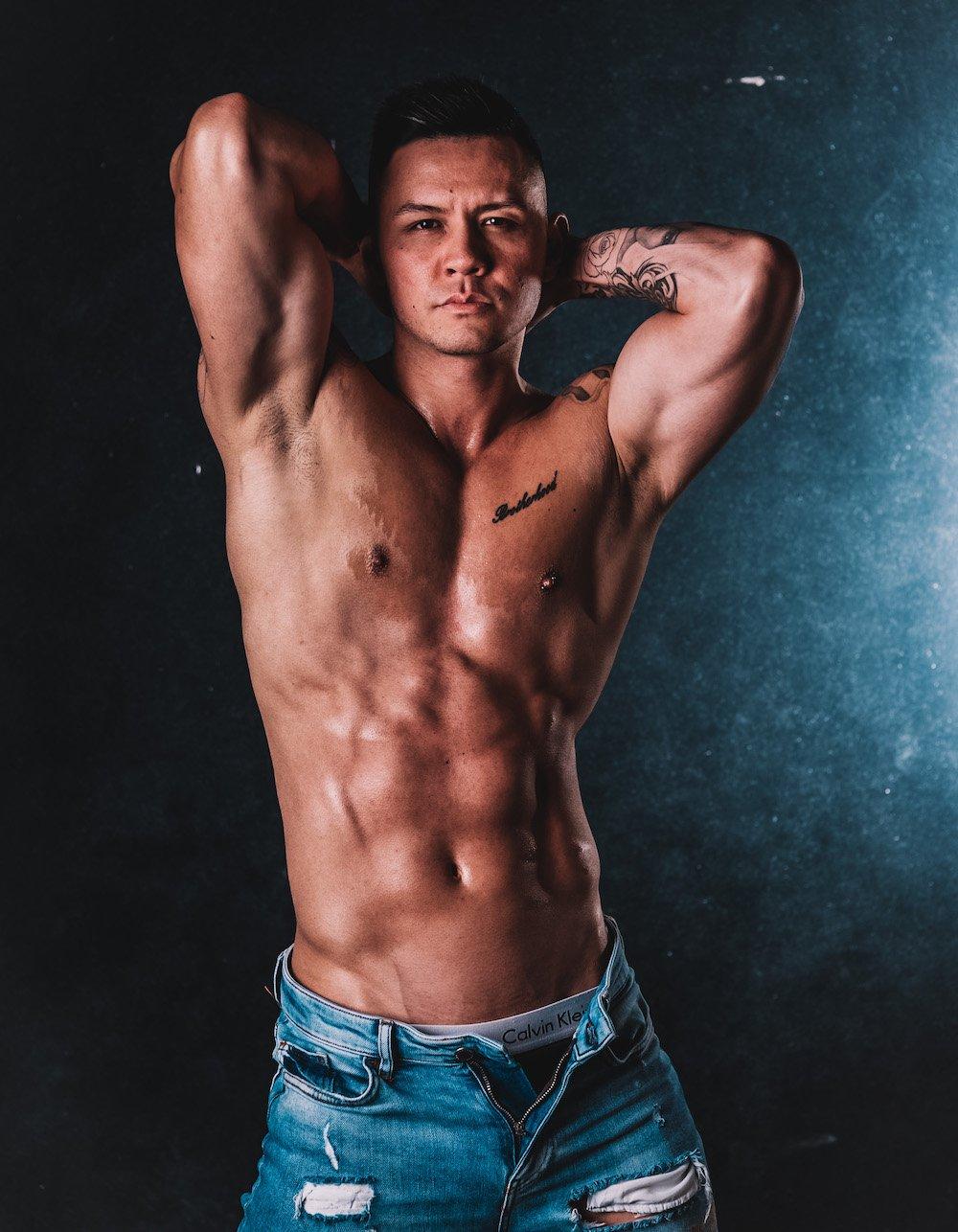 Male Stripper Zain