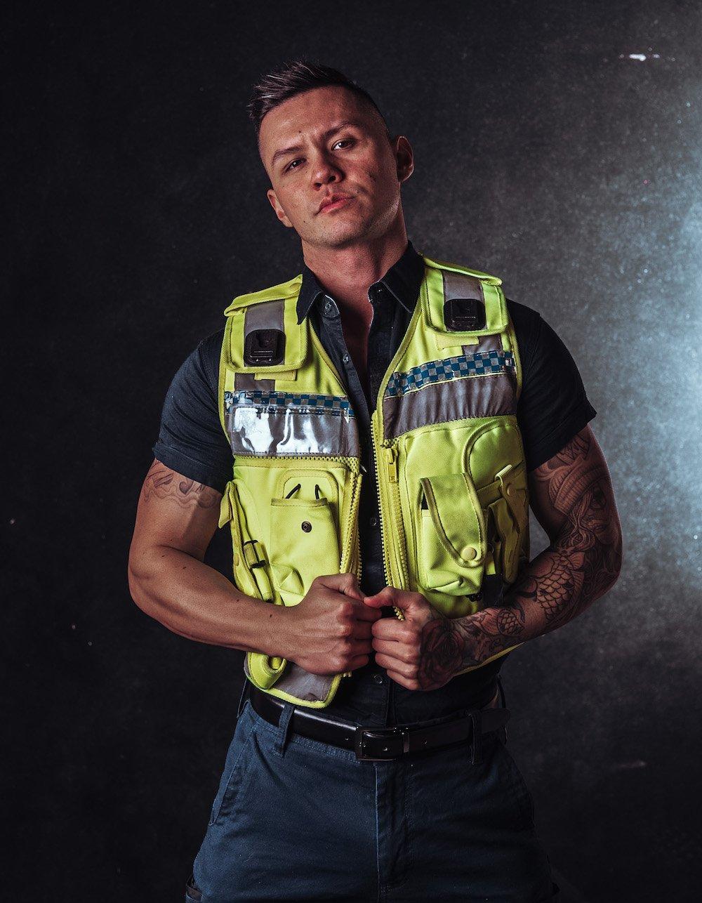 Policeman Stripper Zain