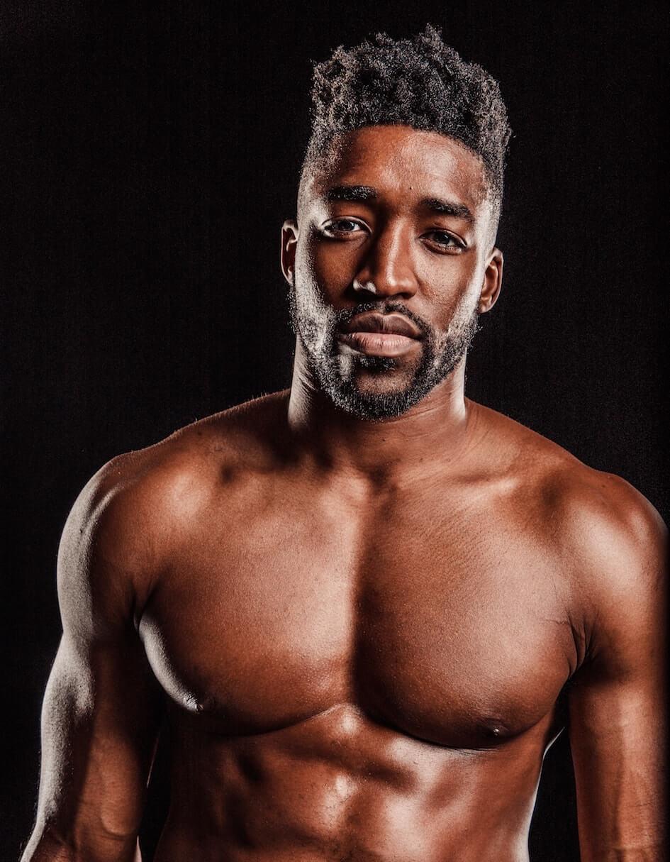 Topless Waiter Demetrius