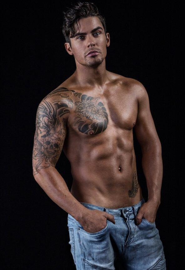 Zac Male Stripper