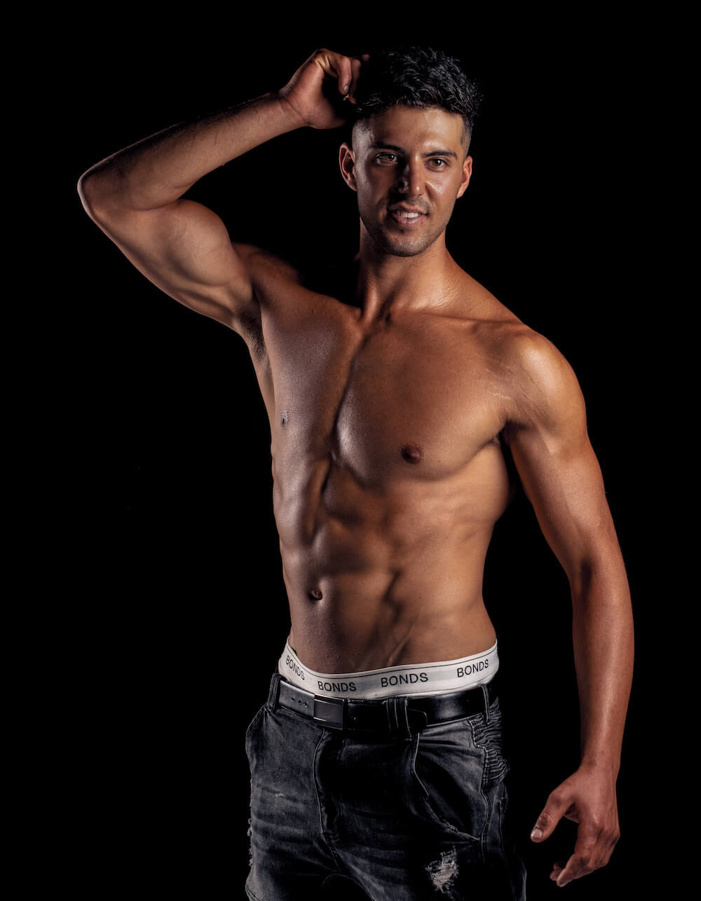 Topless Waiter Jay